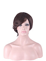 Capless Multi-Color Short Length High Quality Natural Straight Hair Synthetic Wig