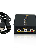 Composite to HDMI  Converter Support PAL/NTSC Selection 1080P 3D with CE FCC RoSH Certificates