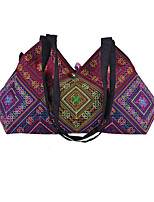 Women Canvas Hobo Shoulder Bag-Multi-color