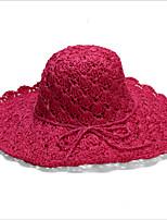 2016 Korea Beach Hat Shading Hollow Bead