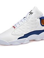 Zapatos de Hombre-Sneakers a la Moda / Zapatos de Deporte-Exterior / Casual / Deporte-Ante-Negro / Blanco