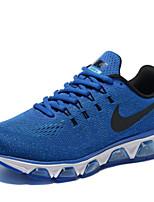 Zapatos Sneakers Tejido Marrón / Gris / Bermellón / Azul Real Hombre