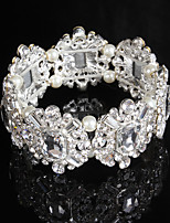 Bracelet Chaîne / Bracelet Rond Imitation de perle / Alliage Perle imitée / Strass Femme