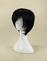 New Arrival Capless Wigs Synthetic Hair Straight Full  Wig Side Bang  3 Colors Can be Choosed