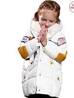 Veste & Manteau Fille de Hiver / Printemps Polyester Blanc