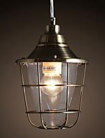 MAX 40W Retro Mini Estilo Galvanizado Metal Lámparas ColgantesSala de estar / Dormitorio / Comedor / Habitación de estudio/Oficina / Sala