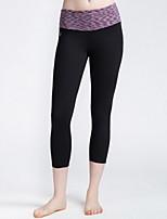 Yoga Pants Bottoms Breathable / Quick Dry Adjustable High Elasticity Sports Wear Green / Blue / Purple Women's SMOEDOD