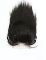Brazilian Virgin Hair Natural Colour Hair Pieces Lace Closure 4