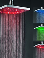 Top Spray Shower Nozzle Color Temperature Control