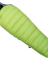 350g Goose Down Nylon Taffeta Lining Single Mummy Bag for Camping and Hiking