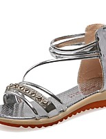 Women's Shoes Wedge Heel Wedges / Gladiator Sandals Party & Evening / Dress / Casual Silver / Gold