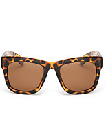 Sunglasses Unisex's Fashion Polarized / 100% UV400 Square Tortoiseshell Sunglasses