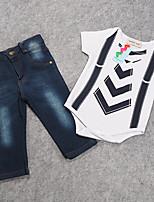 Boy's Cotton Clothing Set,Summer / Spring / Fall