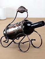 rack portable de vin de fer pur millésime