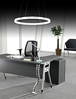 Modern Design Pendant Lights/20W High Quality LED Acrylic Single Ring/Fit for Living Room, Dining Room,Study Room/Office