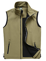 Men's Sleeveless Tank Tops,Polyester Casual / Work / Formal / Sport Solid