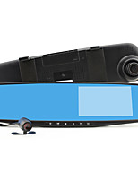 LS854 Dual Camera Car DVR Rearview Mirror 4.3 inch Screen Full HD G-sensor Car Black box