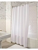 Pure White Shower Curtains W71