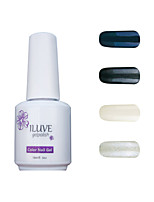 ILuve Gel Nail Polish Set - Pack Of 4 - Long Lasting 3 Weeks Soak Off UV Led Gel Varnish – For Nail Art #4023
