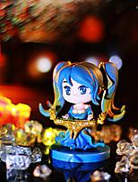 Doll Animation Project Lol Hero 2 Generation 6 Version of The Aki Kiiwasana Model Gift 6PC 8cm