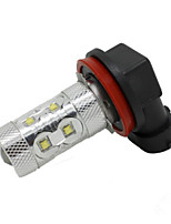 Super Bright Grand Voyager, PT Pacifica 12V 40W Car LED Fog Lamp H8 CREE LED White Color