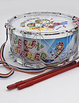 Jazz Drum Plastic White Music Toy For Kids