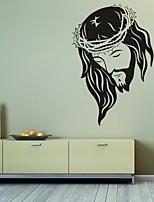 AYA™ DIY Wall Stickers Wall Decals, Jesus PVC Wall Stickers