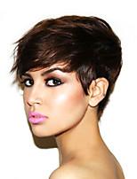 Human Hair Wigs Machine Made Glueless Human Hair Short Wig Mink Brazilian Virgin Hair Short Wigs For Black Women