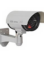 kingneo 1pc extérieur faux / caméra factice pour la surveillance CCTV étanche de sécurité