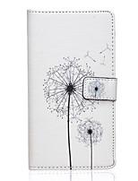 elegante design padrão de capa de couro pu com slot para cartão e ficar para v10 lg