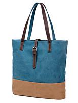 Sac à Bandoulière / Cabas / Cartable-Bleu / Vert / Rouge / Gris-Tonneau-Toile-Femme
