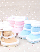Baby Shoes Casual Cotton Boots Blue / Pink / Khaki