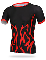 XINTOWN Men Sports Cycling Jersey Bike Breathable T-shirt