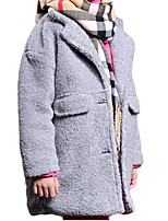 Girl's Pink / Red / Gray Jacket & Coat Polyester Winter / Fall