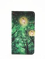 motif de foudre luciole peint cas pu de téléphone pour galaxie a3 (2016) / a5 (2016) / a7 (2016) / a9