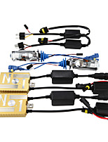 12V55W HID Ballast Decoding Headlight Conversion Kit Bulb H4 lens 3000K 4300K 5000K 6000K 8000K
