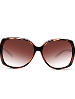 Sunglasses Women / Girl's Fashion Anti-UV / Polarized / 100% UV400 Oversized Tortoiseshell Sunglasses Full-Rim