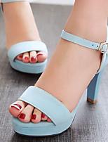 Women's Shoes Stiletto Heels/Platform/Open Toe Sandals Party & Evening/Dress Black/Blue/Gray/Beige/Orange