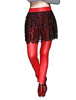 Women Stitching Lace Legging,Lace Thin