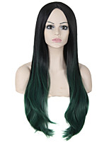 Ombre Wig Cheap Fashion Heat Resistant Synthetic Female Beauty Two-tone Wigs