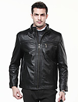 Men Lambskin Leather Jacket