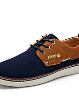 Men's Shoes Casual Leatherette Fashion Sneakers Blue / Yellow / Red / Gray