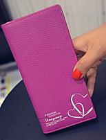 VENETA Women PU Bi-fold Clutch / Wallet / Card & ID Holder-Pink / Blue / Red / Black