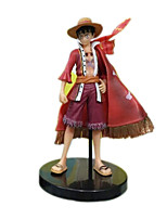 One Piece Anime Action Figure 13CM Model Toy Doll Toy (4 Pcs)
