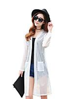 Women's Solid White / Black Shirt,Cowl Long Sleeve
