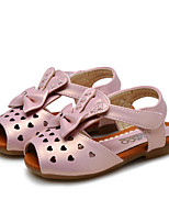 Baby Shoes Wedding / Outdoor / Dress / Casual Leatherette Sandals Pink / Silver / Gold