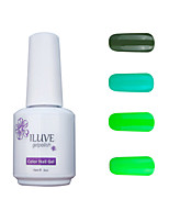 ILuve Gel Nail Polish Set - Pack Of 4 - Long Lasting 3 Weeks Soak Off UV Led Gel Varnish – For Nail Art #4045