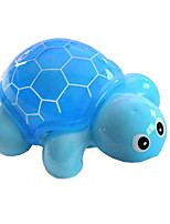 Turtle Shape Plastic Blue / Pink / Yellow Music Toy For Kids