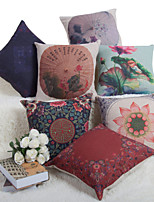 Baolisi Set of 7 Chinese Wind Series Decorative Pillow /Modern Fashion Couples