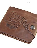 Fashion Men's Rock Wallet Bifold Leather Wallets